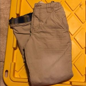 Old Navy 100% cotton fully lined khaki pants